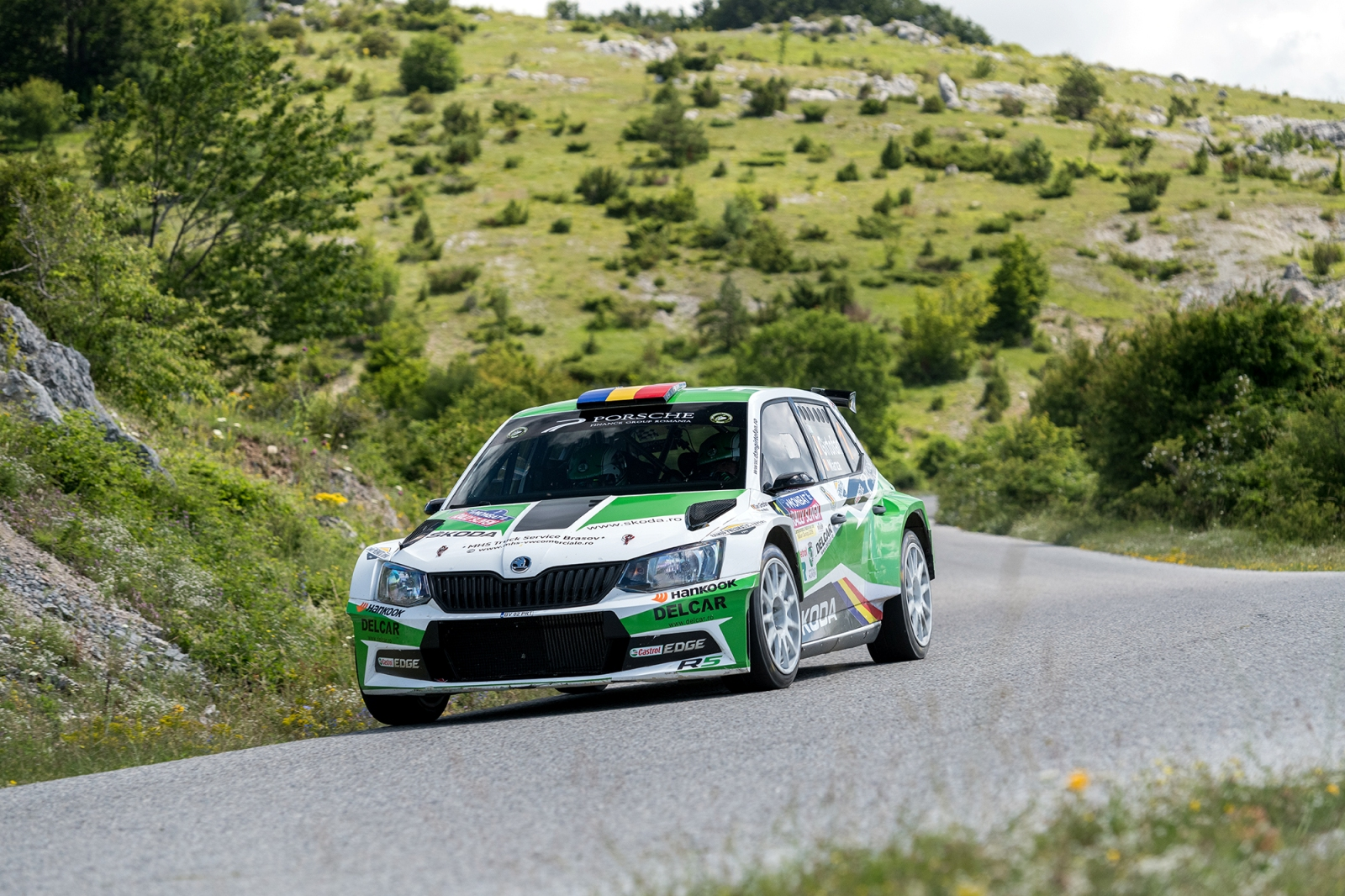 Locul 2 pentru Giri și Tudor la Rally Sliven