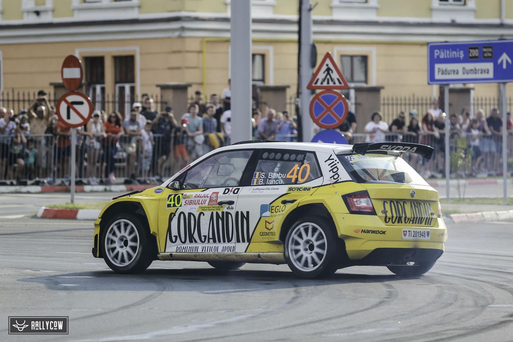 Sebastian Barbu și Bogdan Iancu sunt pregătiți să lupte pentru puncte la Transilvania Rally