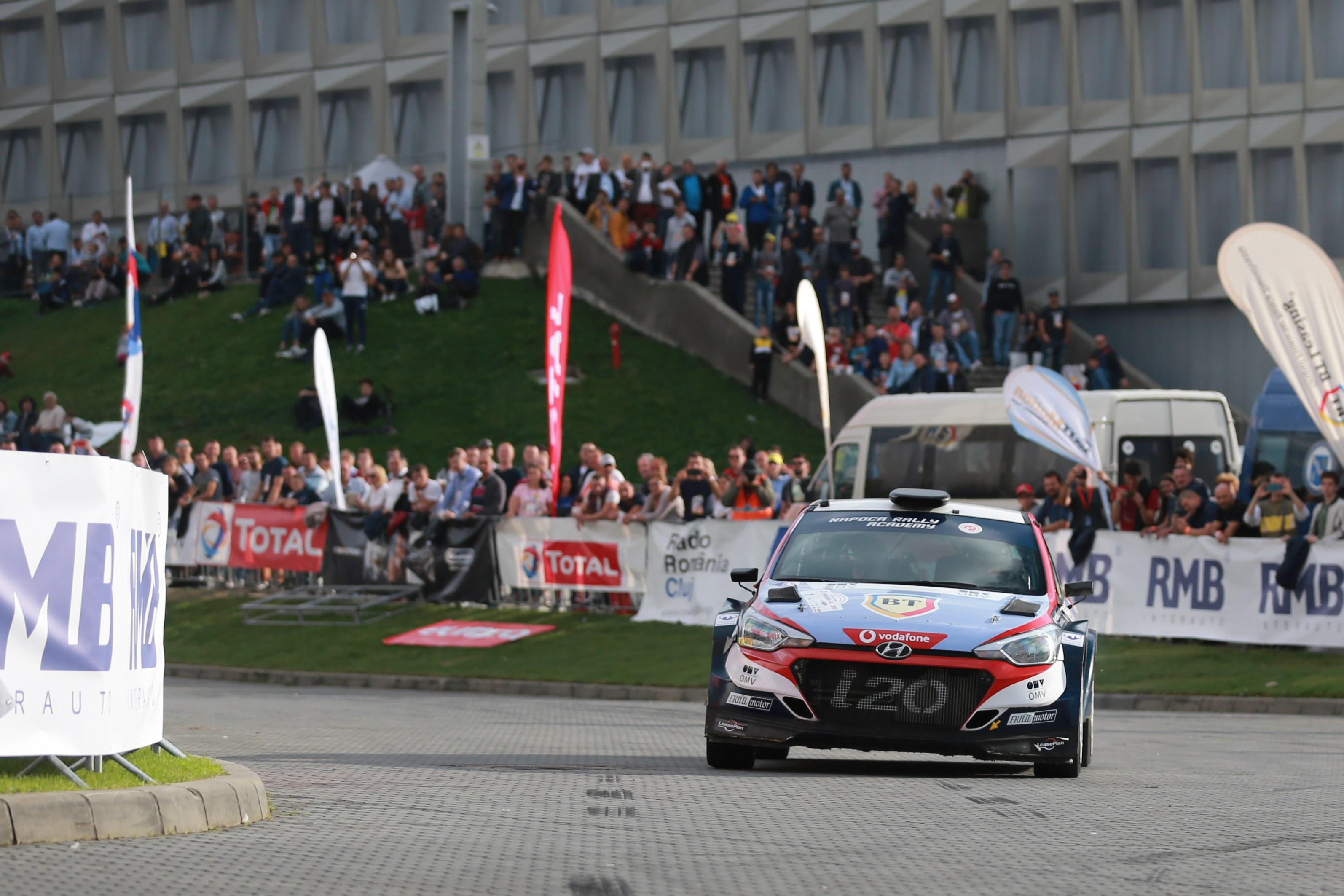 Simone Tempestini a câştigat Total Transilvania Rally