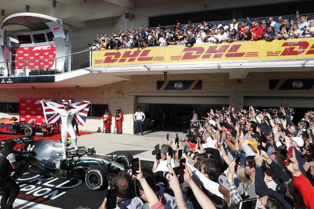 Valtteri Bottas a câștigat Marele Premiu al Statelor Unite iar Lewis Hamilton a fost incoronat campion in F1 pentru a sasea oara