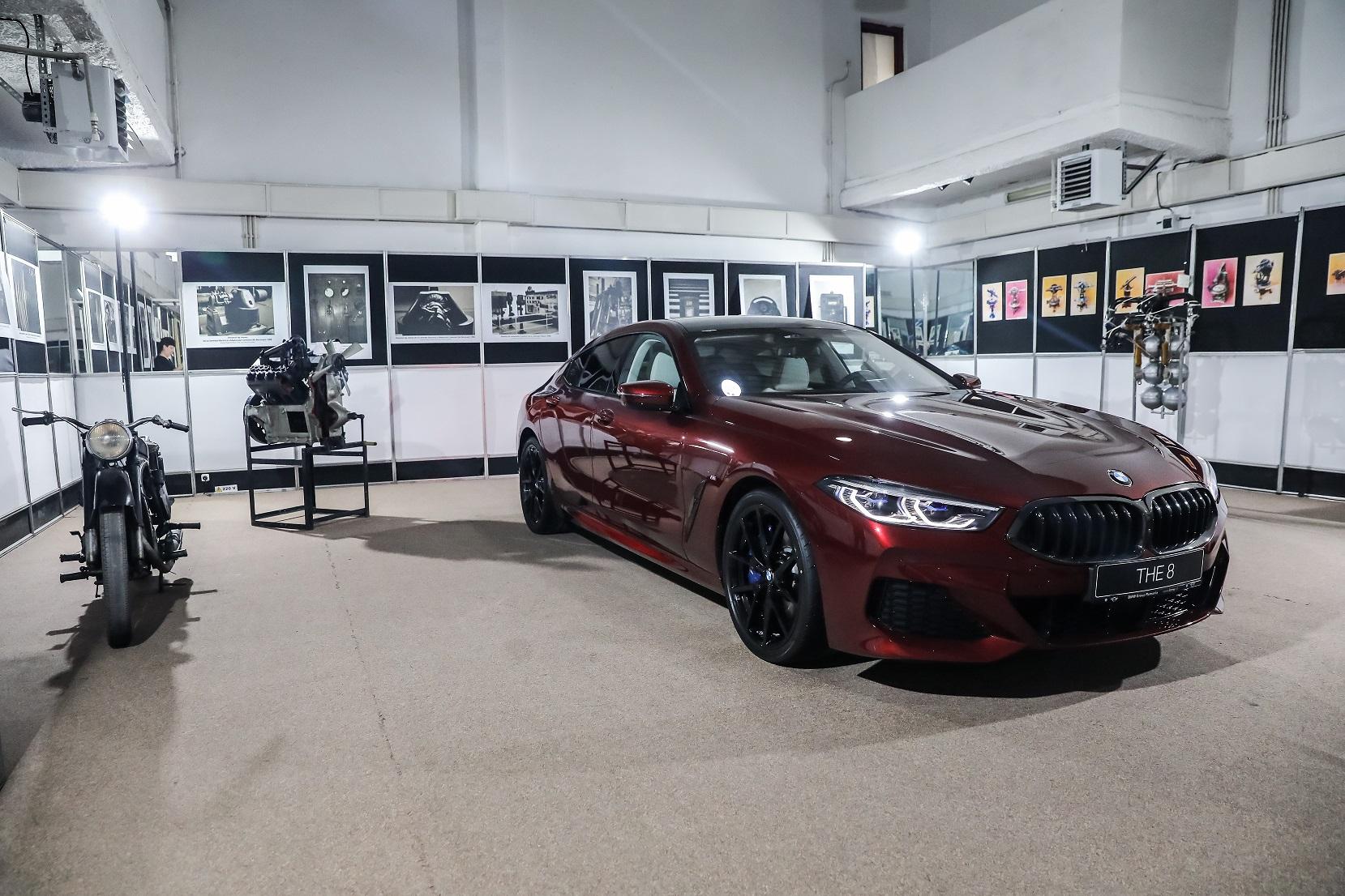 BMW Seria 8 Gran Coupé dezvelit în cadrul unui concert special al Festivalului SoNoRo