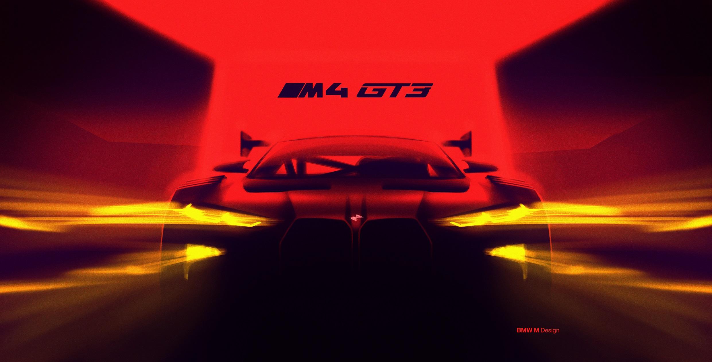 Modelul BMW M4 GT3 va fi noul avanpost în oferta pentru cursele de client