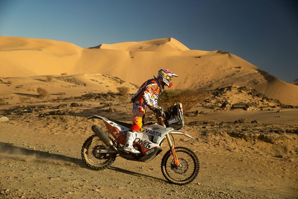 Mani Gyenes, lider la Malle Moto – DAKAR 2020