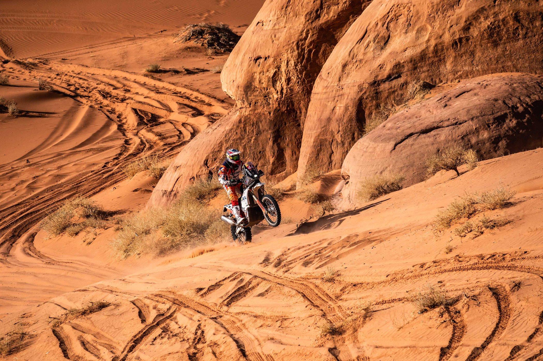 Dakar 2020: Gyenes, lider la Malle Moto – Original și după etapa a 4-a din cele 12