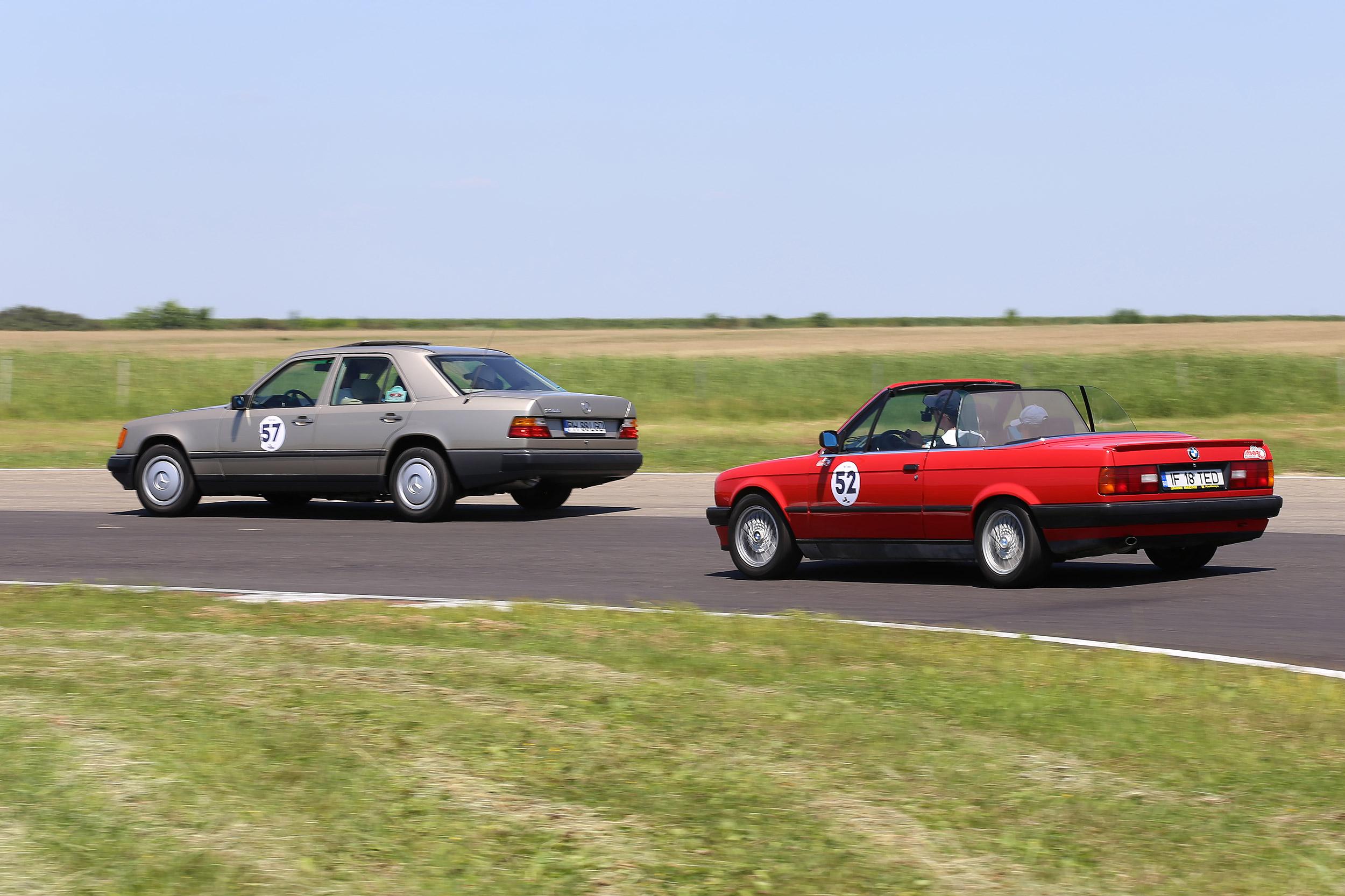 BMW M235i Gran Coupe Safety Car a impus ritmul într-un nou weekend motorsport pe MotorPark România, Adâncata