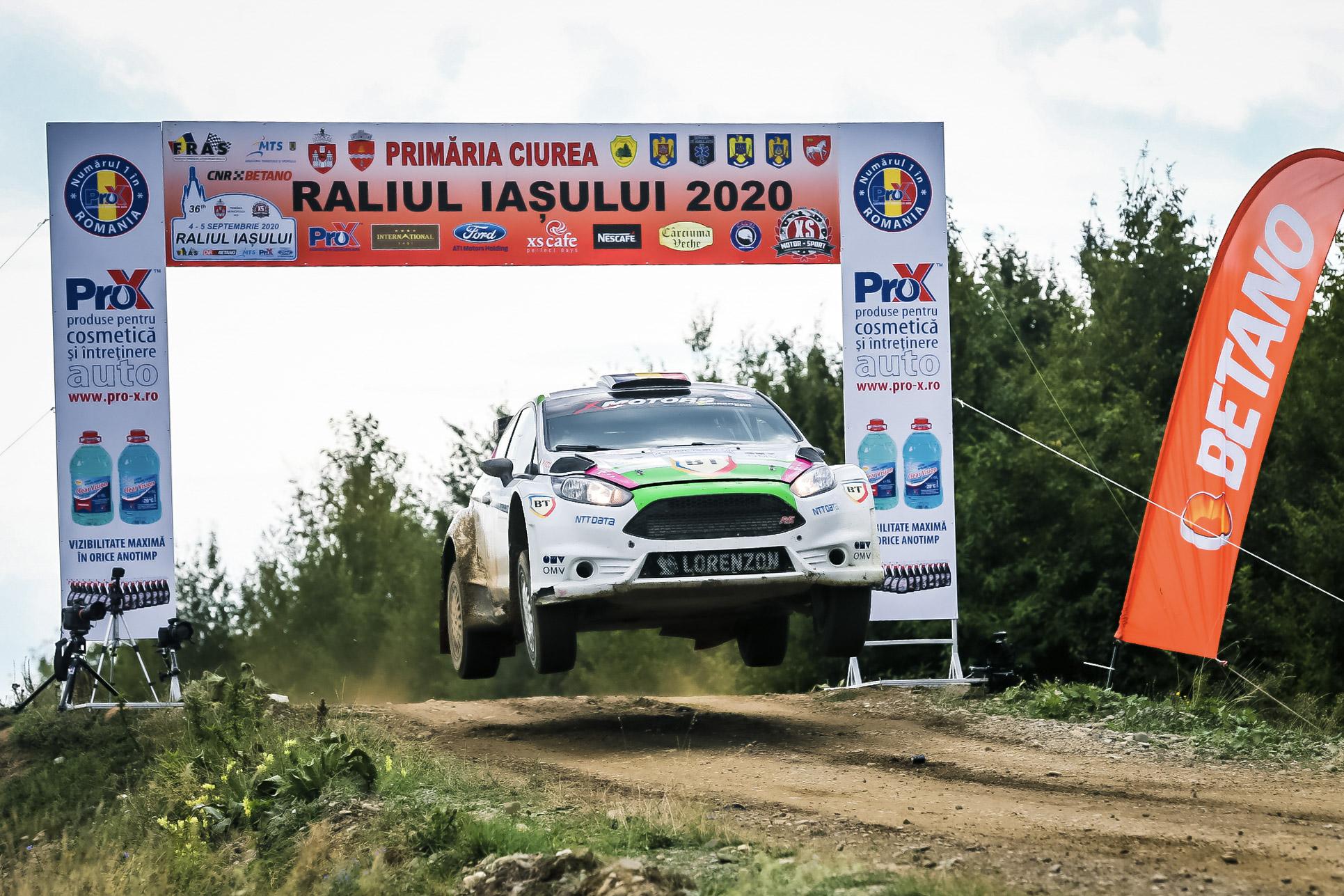 Bogdan Marișca a câștigat Raliul Iașului