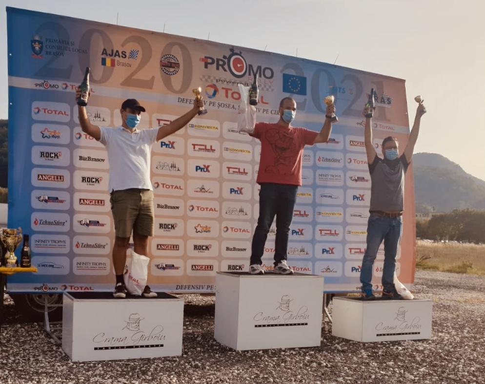 Andi Mararu, câștigătorul primei etape Promo Rally powered by Total