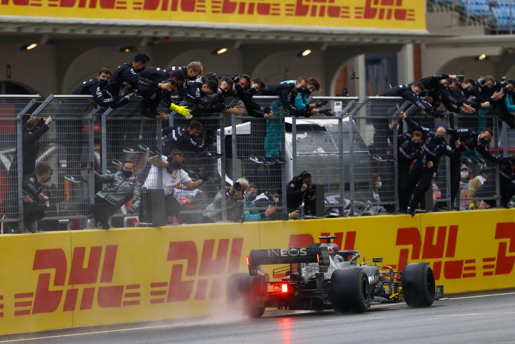 Lewis Hamilton a egalat recordul de sapte titluri de campion al lui Michael Schumacher