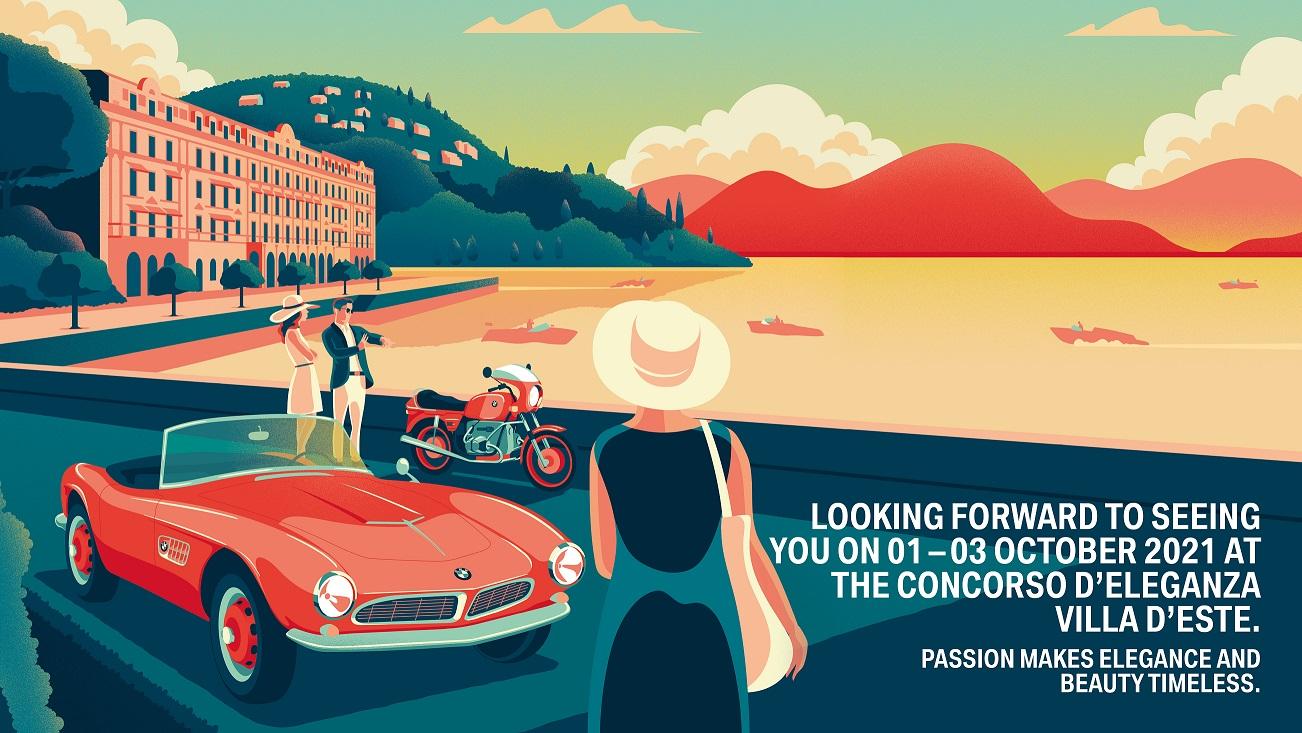 Concorso d'Eleganza Villa d'Este 2021: amânat pentru luna octombrie 2021