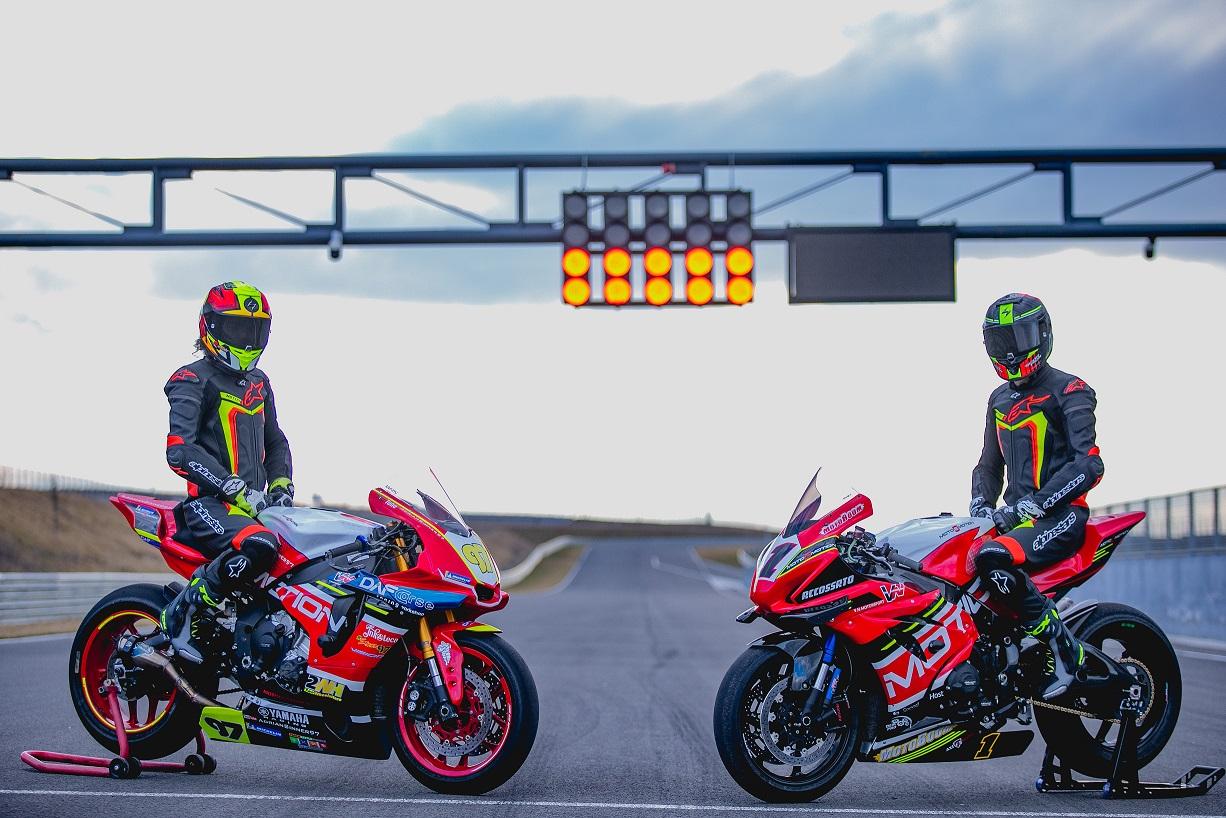 Vlad Neaga și Adrian Rus concureaza pentru VN Motorsport în MotoRC 2021