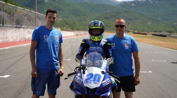 Patrick Pascotă in varsta de 14 ani a debutat în Campionatul European de Motociclism Viteză