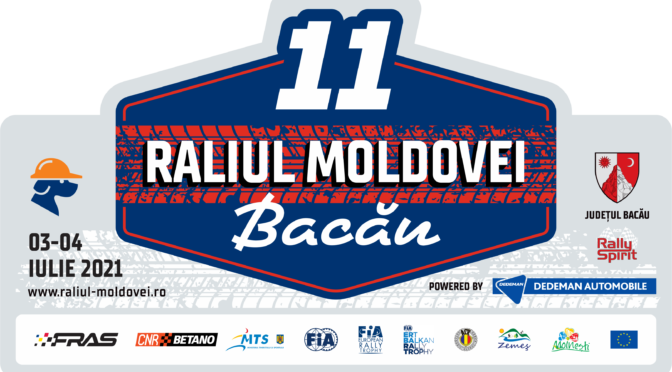 Raliul Moldovei Bacău 3-4 iulie 2021 – Documente oficiale