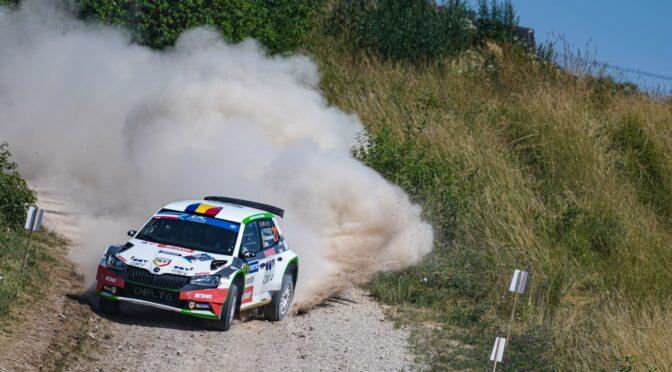 Simone Tempestini si Norbert Maior au reprezentat România în etapa Campionatului European de Raliuri din Letonia