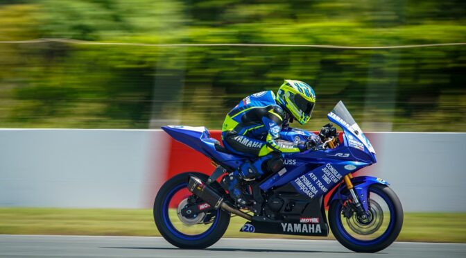 Patrick Pascotă, cel mai tânar câștigător al etapelor de Campionat Național la Motociclism Viteză