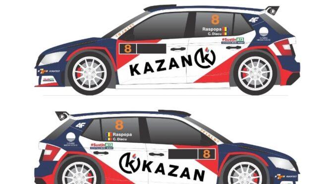 Adrian RĂSPOPA va pilota pentru podium la Raliul Iașului