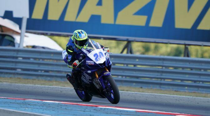 Patrick Pascotă, lider în Campionatul European de Motociclism Viteză, cu o etapă înainte de finalul competiției