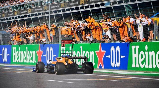 Daniel Ricciardo a câștigat Grand Prix-ul Italiei